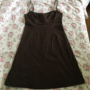 J. Crew Brown Sundress Size 10